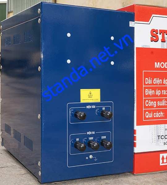 Ổn áp standa 7,5kva dri 50V-250V