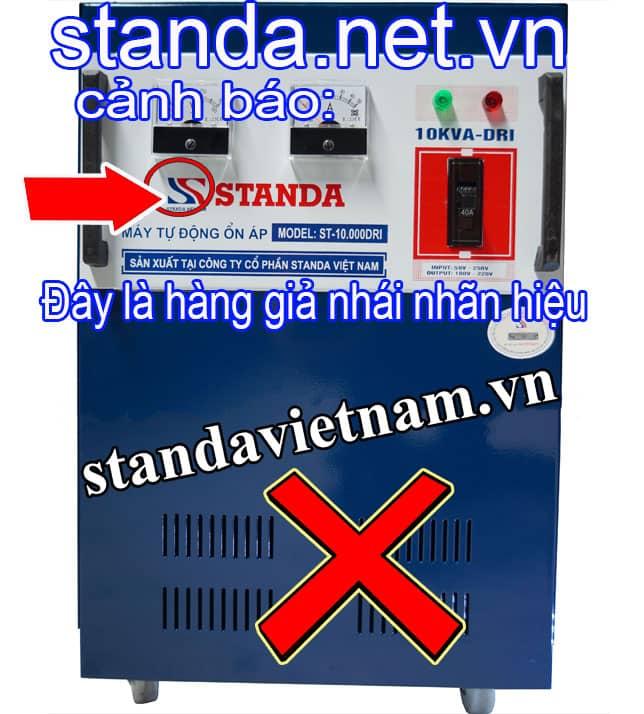 Ổn áp Standa 10kVA giả nhái nhãn hiệu-Xin Cảnh Báo