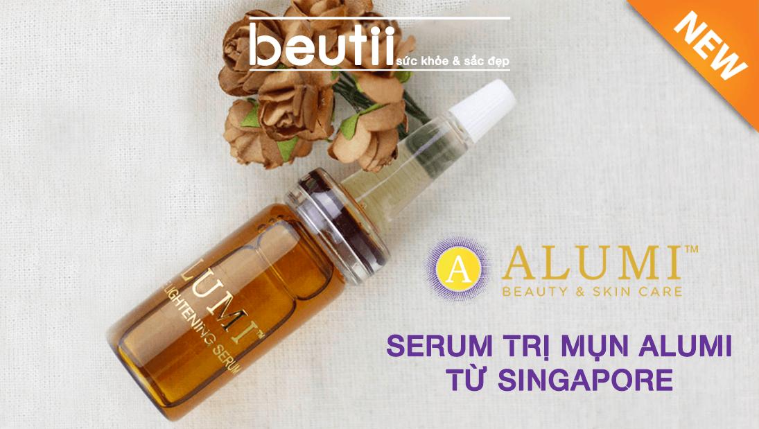 Serum Alumi Trị Mụn Từ Singapore