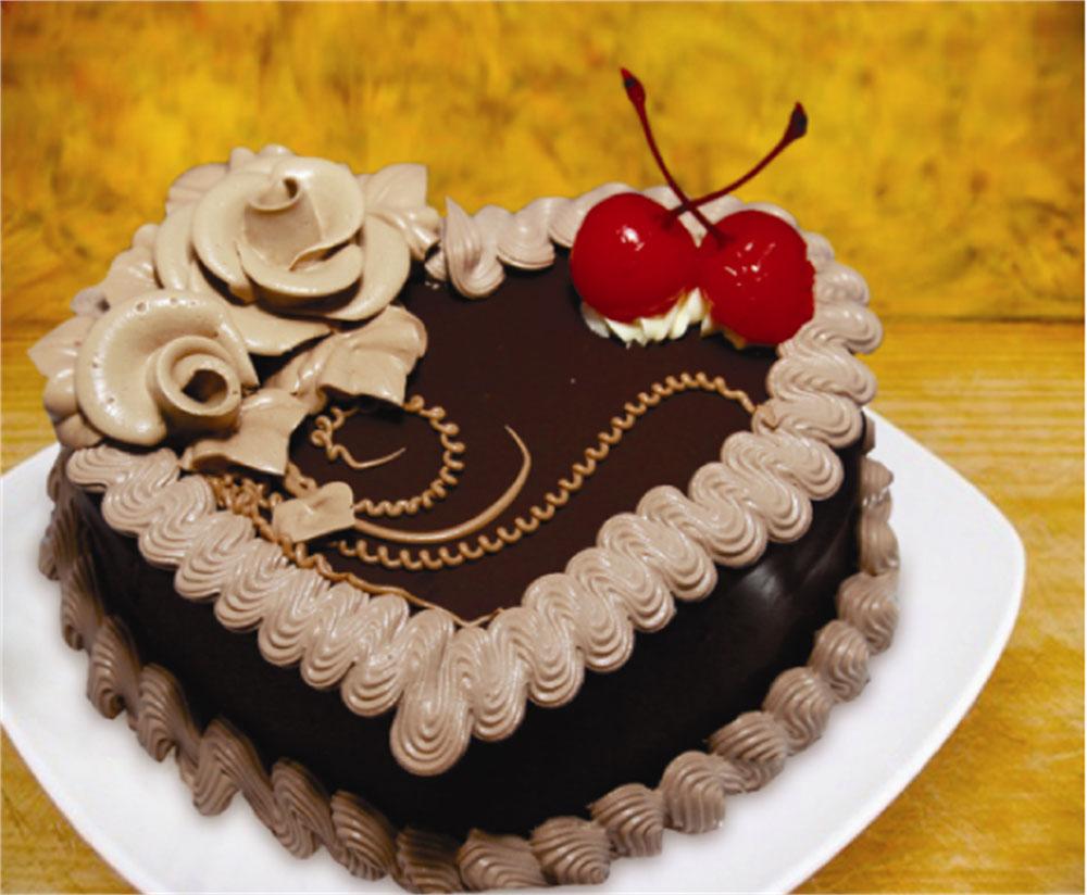 Kết quả hình ảnh cho Bánh kem socola hình trái tim ngày Lễ tình nhân